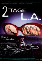 2 TAGE IN L.A. - 1996 - Filmplakat - Charlize Theron - Poster