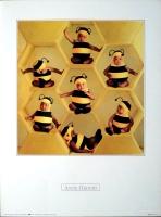 GEDDES, ANNE - 1993 - Plakat - Kunstdruck - Baby - Bienen - Poster
