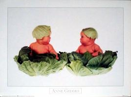 GEDDES, ANNE - 1993 - Plakat - Kunstdruck - Baby - Poster