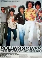 ROLLING STONES - 1976-04-28 - Plakat - European Tour - Poster - Frankfurt