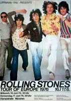 ROLLING STONES - 1976-06-16 - Plakat - European Tour - Poster - München
