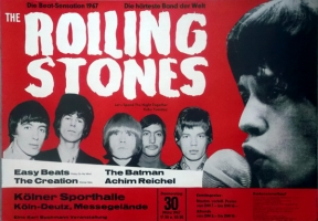 ROLLING STONES - 1967-03-30 - Konzerplakat - Achim Reichel - Poster - Köln