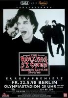ROLLING STONES - 1998-05-22 -  Plakat - Bridges to - Poster - Berlin (G)