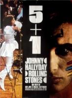 ROLLING STONES - 1970-00-00 - Filmplakat - 5 + 1 - Johnny Hallyday - Poster