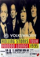 ROLLING STONES - 1995-08-12 - Plakat - Voodoo Lounge - Poster - Schüttorf