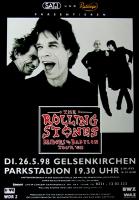 ROLLING STONES - 1998-05-26 - Plakat - Bridges to - Poster - Gelsenkirchen (G)