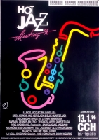 HOT JAZZ MEETING - 1996 - Plakat - Jazz - Concert - Zrocke - Poster - Hamburg