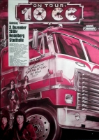 10CC - 10 cc - 1977 - Konzertplakat - Live and let.. - Tourposter - Heidelberg