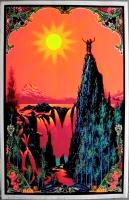 BLACKLIGHT - 1971 - Plakat - Garden Eden - Original - Schwarzlicht - Poster