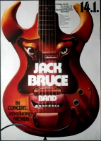 BRUCE, JACK - 1972 - Plakat - Günther Kieser - Poster - München