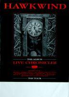 HAWKWIND - 1986 - Tourplakat - Concert - Chronicles - Tourposter