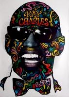 CHARLES, RAY - 1968 - Plakat - Günther Kieser - Poster - Autogramm / Signed