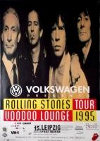 ROLLING STONES - 1995-08-15 - Plakat - Voodoo Lounge - Poster - Leipzig - A0