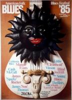 AMERICAN FOLK & BLUES - 1985 - Plakat - Günther Kieser - Poster - Osnabrück