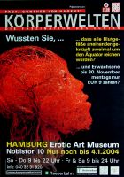 KÖRPERWELTEN - 2004 - Plakat - Gunther van Hagen - Hamburg - C