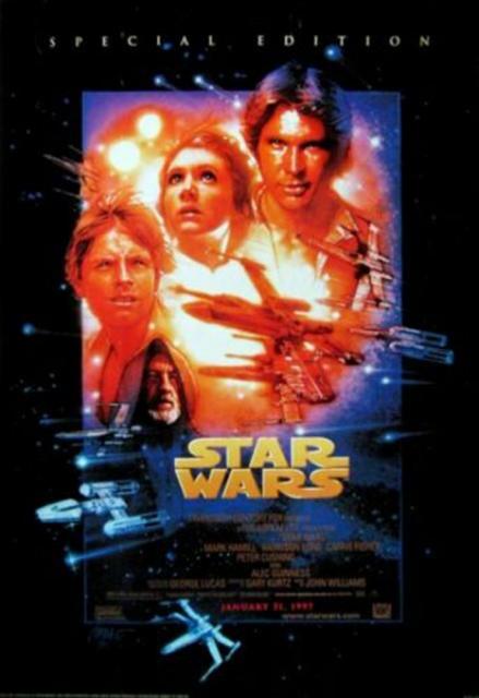 STAR WARS - 1997 - Plakat - Poster - GER-014 - Luisposter ...