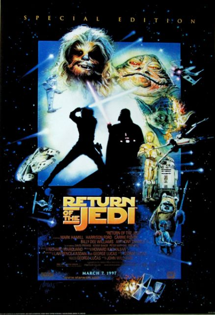 STAR WARS - 1997 - Plakat - Return of the Jedi - Poster ...