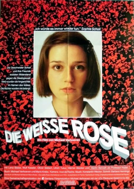 Weisse Rose Die 1982 Plakat Konstantin Wecker Poster Luisposter Poster Plakate Raritã Ten
