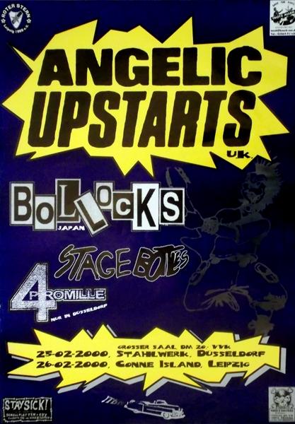 Angelic Upstarts Tour