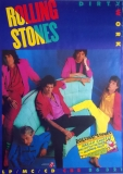 ROLLING STONES - 1986-03-00 - Promoplakat - Dirty Works - Poster