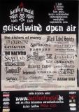 GEISELWIND OPEN AIR - 2007 - Plakat - Sisters of Mercy - In Extremo - Poster