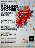 ROLLING STONES - 2006-07-12 - Plakat - Bigger Bang - Poster - Leipzig (Z)