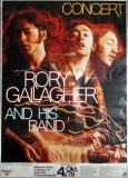 GALLAGHER, RORY - TASTE - 1978 - Plakat - Günther Kieser - Poster - Karlsruhe