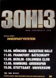 30H!3 - 2011 - Tourplakat - Concert - Streets of Gold - Tourposter