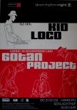 DRUM RHYTHM NIGHT - 2002 - Plakat - Gotan Project - Poster - Hamburg