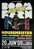 ELECTRIC BOOM BASH - 2009 - Plakat - Boysnoize - Poster - Hamburg