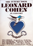COHEN, LEONARD - 1992 - Tourplakat - In Concert - The Future - Tourposter