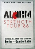 ALARM - 1986 - Konzertplakat - Concert - Strength - Tourposter - Berlin