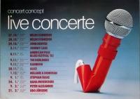CONCERT CONCEPT - 1982 - Plakat - Johnny Cash - Rainbow - Poster - Berlin