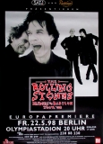 ROLLING STONES - 1998-05-22- Plakat - Bridges to - Poster - Berlin (G) A0