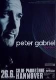 GABRIEL, PETER - GENESIS - 2007 - Plakat - Concert - Tourposter - Hannover