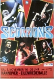 SCORPIONS - 1996 - Konzertplakat - Pure Instinct - Tourposter - Hannover - B