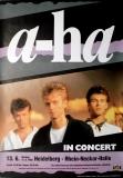 A-HA - 1988 - Konzertplakat - Concert - Tourposter - Heidelberg