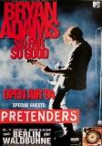 ADAMS, BRYAN - 1994 - Plakat - In Concert - Pretenders - Tour - Poster - Berlin