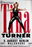 TURNER, TINA - 1996 - Plakat - In Concert - Open Air Tour - Poster - Berlin