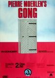 GONG - PIERRE MOERLEN - 1980 - Plakat - In Concert - Poster - Köln