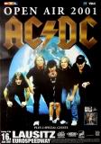 AC/DC - ACDC - 2001 - Plakat - Concert - Stiff Upper Lipp Tour - Poster - Lausit