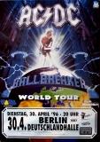 AC/DC - ACDC - 1996 - Plakat - In Concert - Ballbreaker Tour - Poster - Berlin