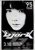 BJÖRK - SUGARCUBES - 1995 - Plakat - In Concert - Post Tour - Poster - Berlin