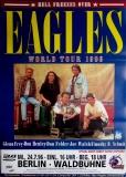 EAGLES - 1996 - Plakat - In Concert - Hell Freezers Over Tour - Poster - Berlin