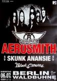 AEROSMITH - 1999 - Plakat - Skunk Anansie - Black Crowes - Poster - Berlin