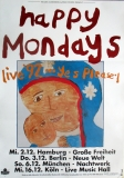 HAPPY MONDAYS - 1992 - Tourplakat - In Concert - Yes Please - Tourposter
