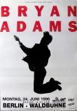 ADAMS, BRYAN - 1996 - Konzertplakat - Concert - Tourposter - Berlin