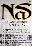 NAS - 1997 - Plakat - In Concert - Hip Hop - It was Written Tour - Poster