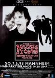 ROLLING STONES - 1998-06-07 - Plakat - Bridges to - Poster - Mannheim (G)