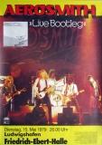 AEROSMITH - 1979 - Plakat - In Concert - Live Bootleg Tour - Poster - Ludwigshafen